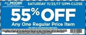 Regular Priced Item Coupon