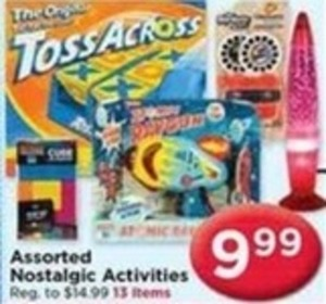 Assorted Nostalgic Activities