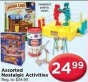 Assorted Nostalgic Activities
