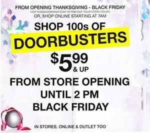 100s Of Doorbusters