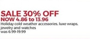 Holiday Cold Weather Accessories, Luxe Wraps, Jewelry and Wathces