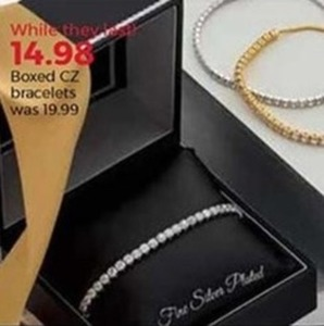 Boxed CZ Bracelets