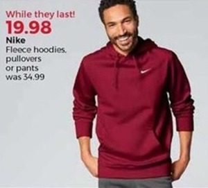 Nike Fleece Hoodies, Pullovers, or Pants