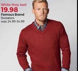 Famous Brand Sweaters