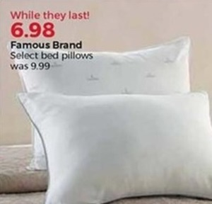 Famous Brand Bed Pillows