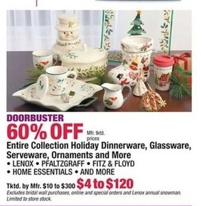 Entire Collection Holiday Dinnerware, Glassware, Serveware, Ornaments & More