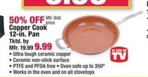 Copper Cook 12-inch Pan