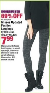 Misses Updated Fashion Leggings