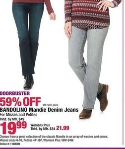 Bandolino Mandie Denim Jeans