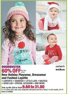 New Holiday Playwear, Dresswear and Fashion Layette