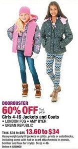 Girl's Jackets and Coats