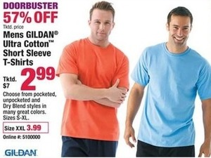 Mens Gildan Ultra Cotton Short Sleeve T-Shirts