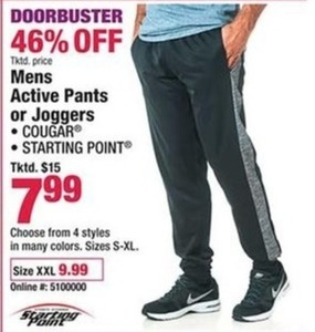 Men's Active Pants or Joggers