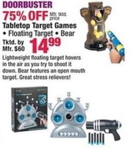 Tabletop Target Games