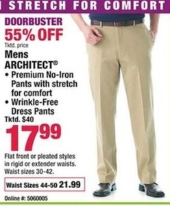 Architect Men's Dress Pants