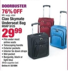 Ciao Skymate Underseat Bag