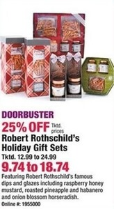 Robert Rothschild's Holiday Gift Sets
