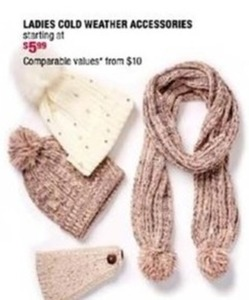 Ladies Cold Weather Accessories