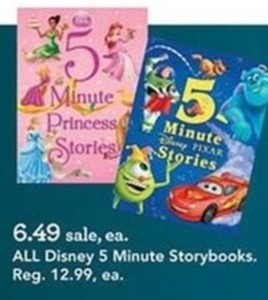 All Disney 5 Minute Storybooks