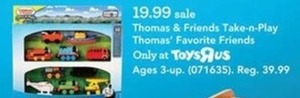 Thomas & Friends Take-n-Play Thomas' Favorite Friends