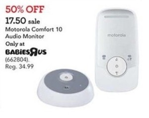 Motorola Comfort 10 Audio Monitor