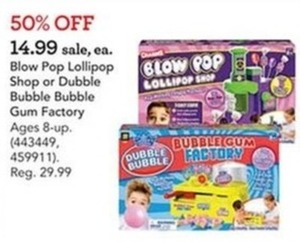Dubble Bubble Bubble Gum Factory Set