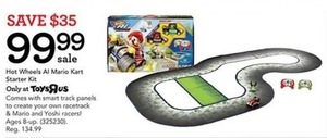 Hot Wheels Al Mario Kart Starter Kit