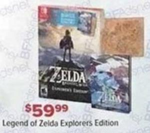 Legend of Zelda Explorers Edition