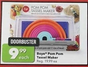 Boye Pom Pom Tassel Maker