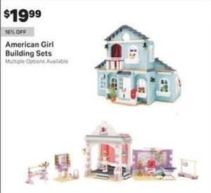 American Girl Building Sets