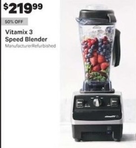 Vitamix 3 Speed Blender