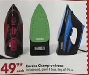Eureka Champion Irons