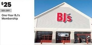 One Year Bj's Membership