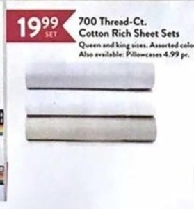 700 Thread-Count Cotton Rich Sheet Sets