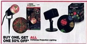 All Christmas Projection Lighting