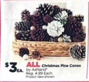 All Christmas Pine Cones
