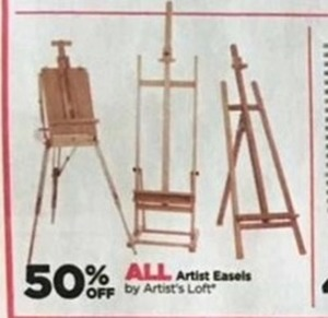 All Artist Easels