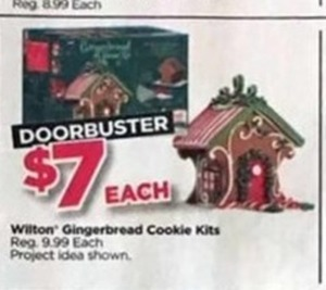 Wilton Gingerbread Cookie Kits