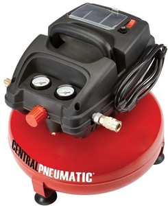Central Pneumatic Pancake 3 Gallon Air Compressor
