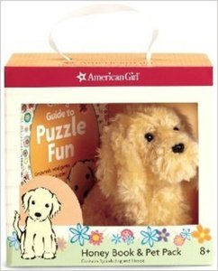 American Girl Honey Book & Pet Package