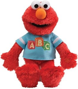 "Gund Fun Sesame Street Everyday Elmo 15"" Plush"