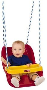 Fisher-Price Infant To Toddler Swing - Red