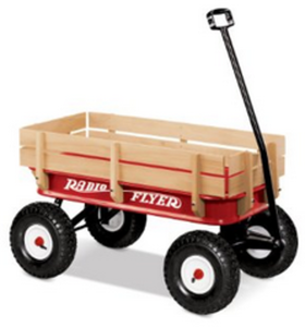 Radio Flyer 32S All-Terrain Steel and Wood Wagon