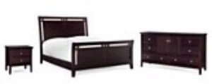 Edgewater 3 PC Queen Bedroom Set
