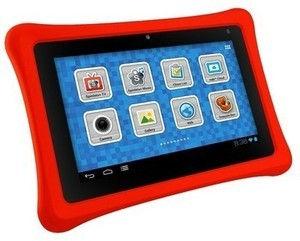 "Nabi 7"" Kids Android Tablet w/ 8GB Internal Storage, 1GB RAM - Red"