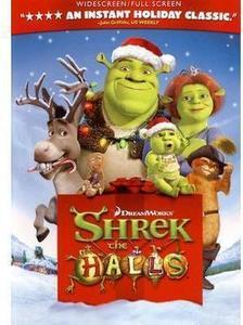 Shrek the Halls Widescreen DVD