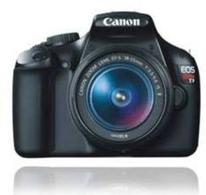 Canon EOS Rebel T3 Digital SLR Camera 12.2MP w/18-55mm Lens