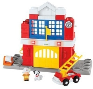 Little People Builders Fire Station After Coupon