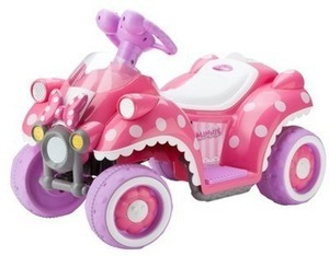 Disney's Minnie Quad 6V Ride-On After Coupon