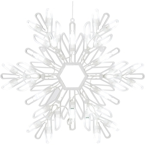 Lighted Holiday Silhouettes - Snowflake